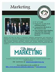 Marketing flyer