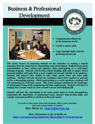 Business Pro Dev flier