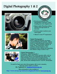 Digital Photography flier