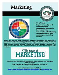 Marketing flier