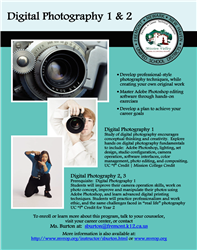 Digital Photography Course Flier