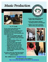 Music Production flyer