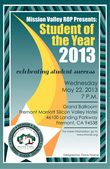 MVROP Student of the Year 2013