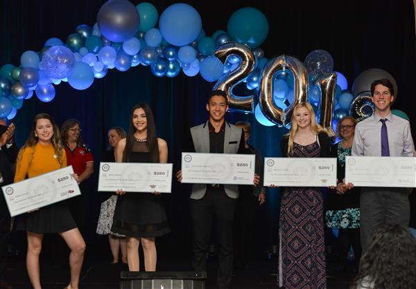 2018 SOTY Scholarship Winners
